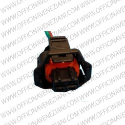 Connettore elettrico con briglia –2 pin –