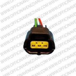 Connettore elettrico con briglia –3 pin –