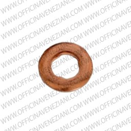 Copper gasket with internal swelled snotches FIAT –SIEMENS/VDO